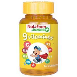 NAT & FORM Junior 9 Vitamines