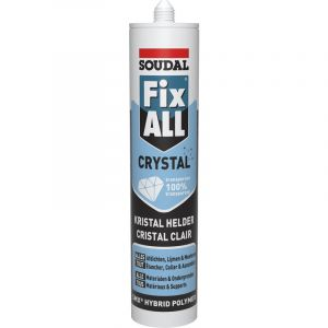 Mastic Soudal Fix All Crystal transparent 290ml