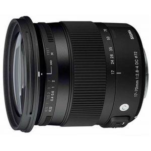 Objectif reflex Sigma DC C 17  70 mm f/2.8  4.0 OS HSM Macro Line Contemporary; Monture Canon