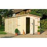 Chalet & Jardin Garage Chalet et Jardin ALBATROS / ref : 700246 En bois, surface 14.5 m²
