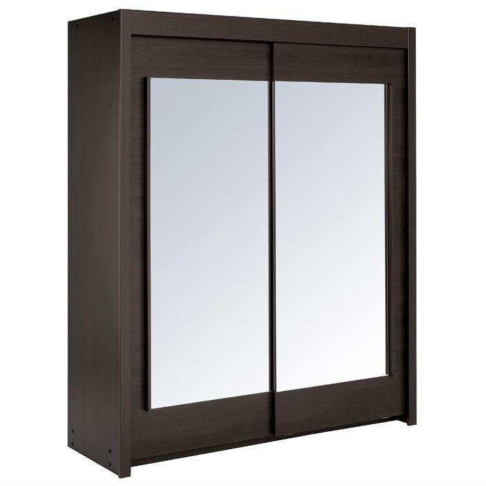 Les meubles olivier armoire zeus 2 portes coulissantes for Meuble zeus