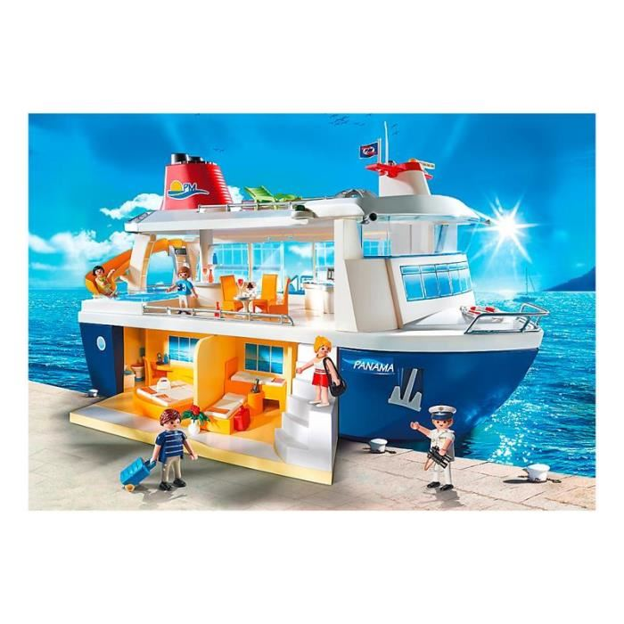 playmobil 6978 family fun bateau de croisi re comparer avec. Black Bedroom Furniture Sets. Home Design Ideas