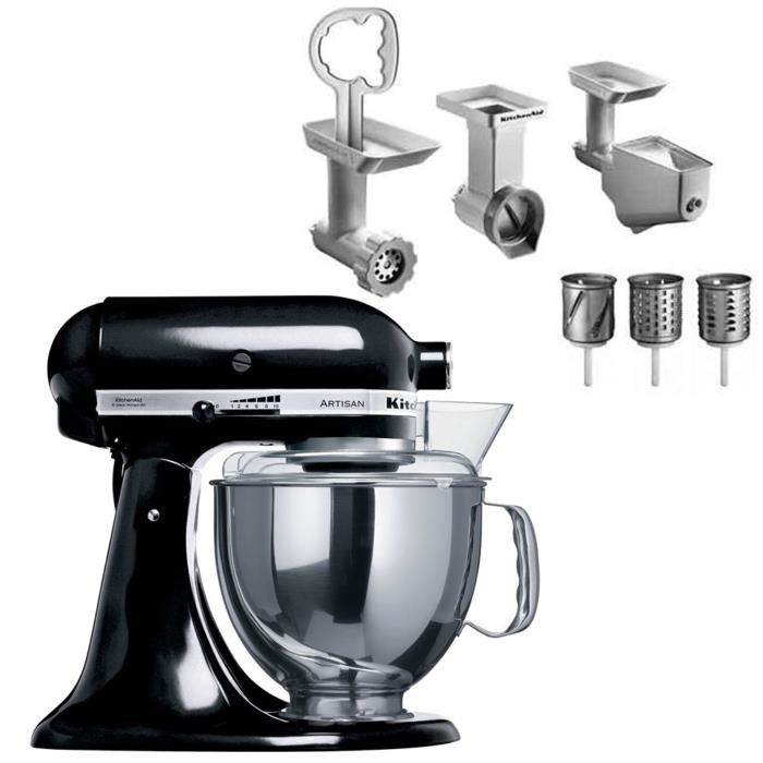 kitchen aid 5ksm150ps robot sur socle artisan 4 8 l comparer avec. Black Bedroom Furniture Sets. Home Design Ideas