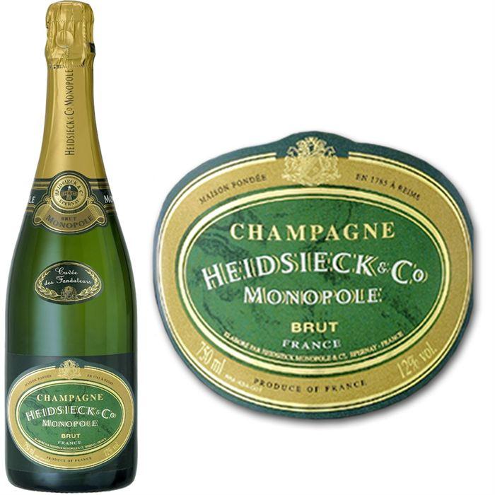 heidsieck co monopole champagne brut comparer avec. Black Bedroom Furniture Sets. Home Design Ideas