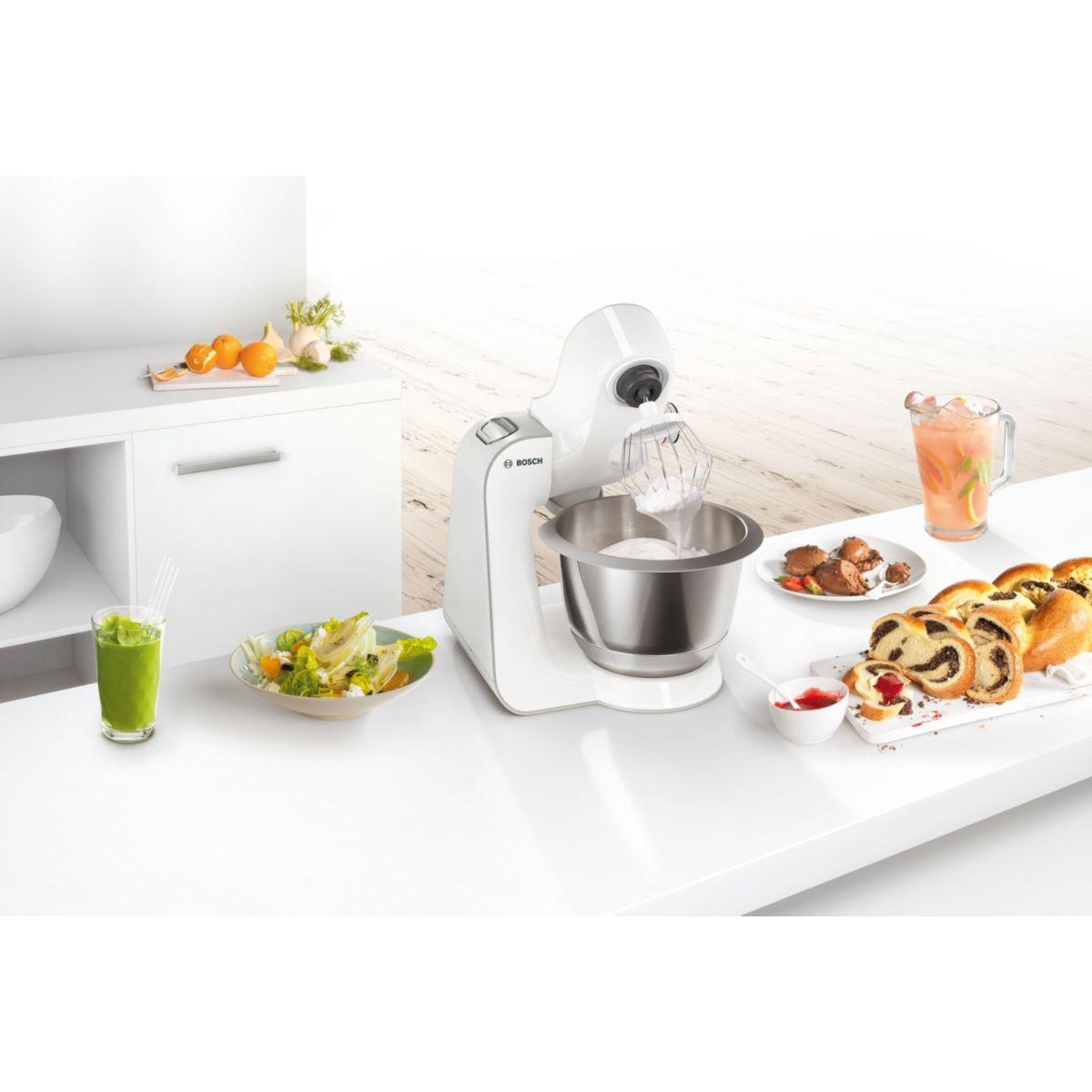 Bosch mum58243 robot de cuisine comparer avec for Robot de cuisine bosch mum5