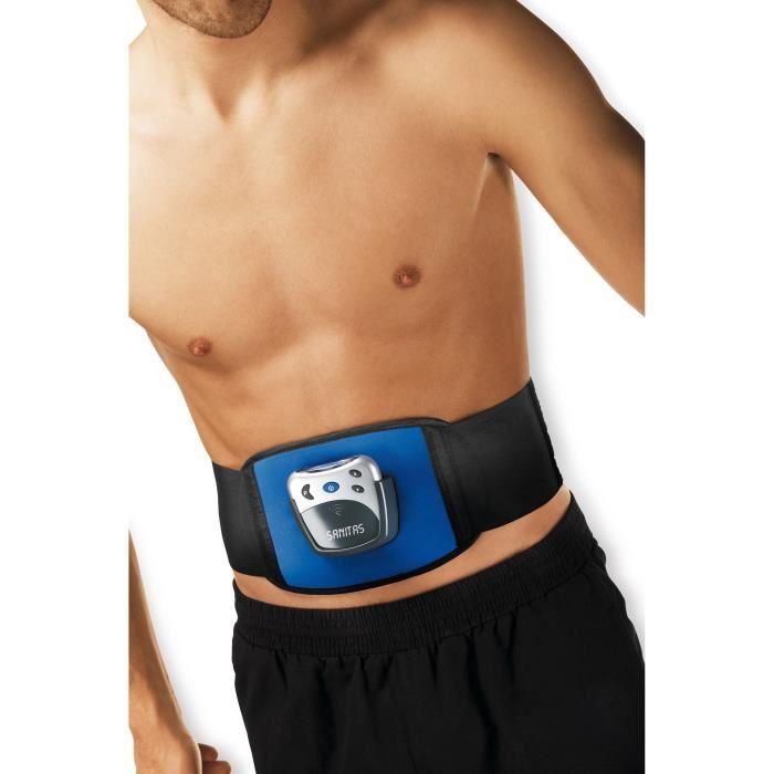 sanitas sem 30 ceinture de musculation abdominale 5 programmes comparer avec. Black Bedroom Furniture Sets. Home Design Ideas
