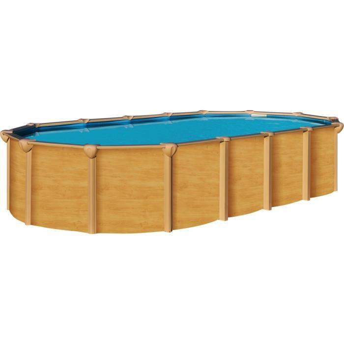 Abak c9530 piscine aspect bois osmose hors sol 755 x 390 for Abak piscine