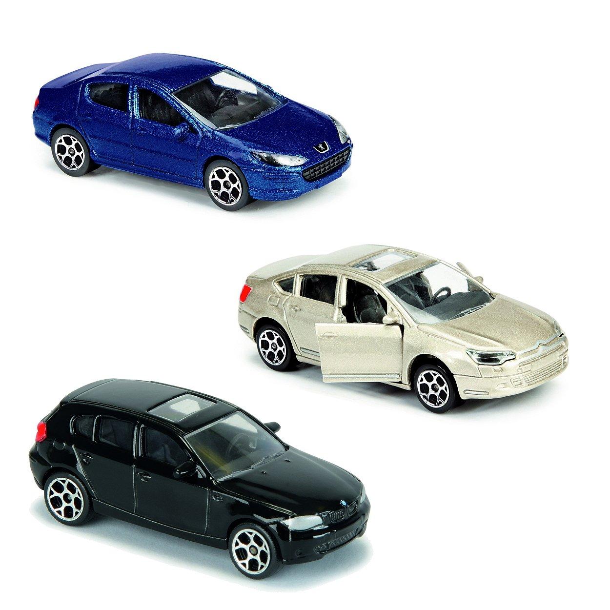 majorette pack de 3 voitures miniatures mod le al atoire comparer avec. Black Bedroom Furniture Sets. Home Design Ideas