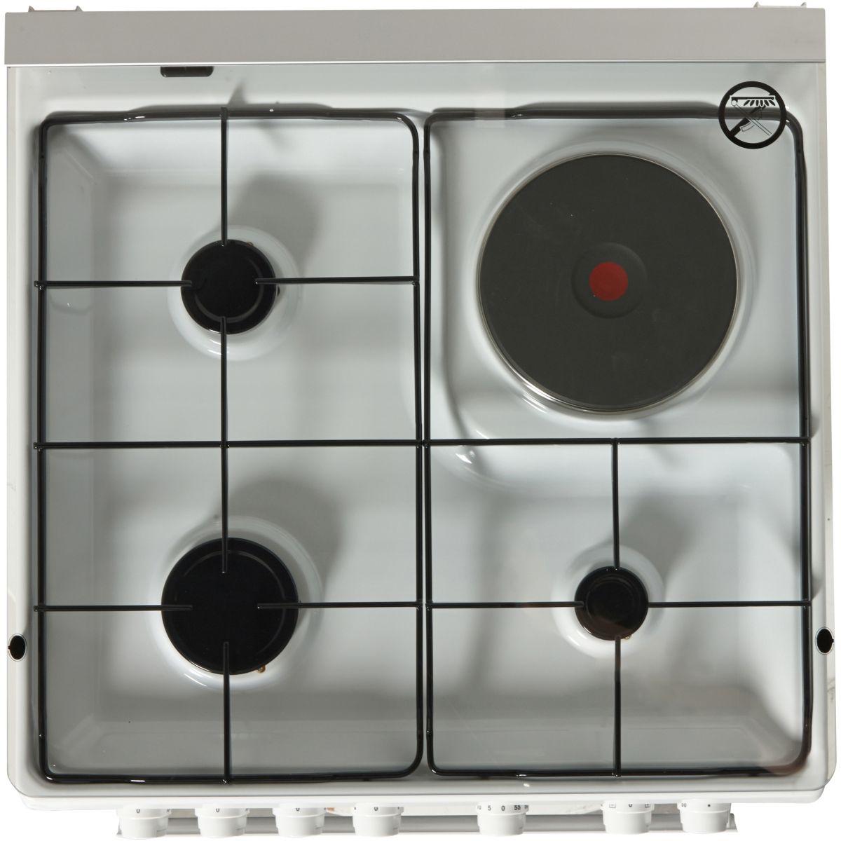 electrolux ekm6130ao cuisini re mixte 3 br leurs avec 1 plaque et four lectrique comparer. Black Bedroom Furniture Sets. Home Design Ideas