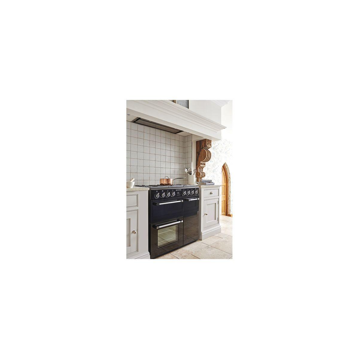 Smeg bm93 piano de cuisson mixte 5 foyers gaz avec 3 fours lectriques co - Prix d un piano de cuisson ...