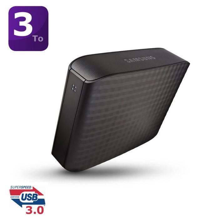 samsung hx d301tdb disque dur externe d3 station 3 to 3. Black Bedroom Furniture Sets. Home Design Ideas