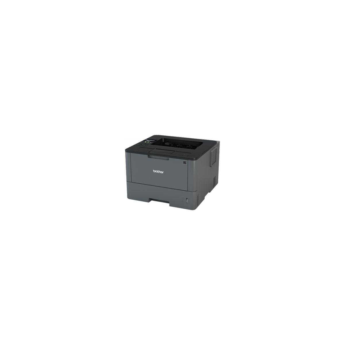 brother hl l5200dw imprimante laser noir et blanc recto. Black Bedroom Furniture Sets. Home Design Ideas