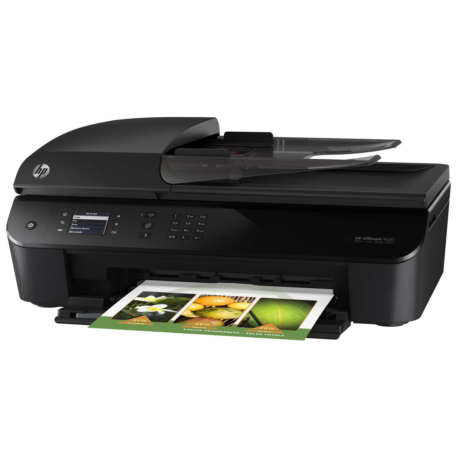 hp officejet 4630 imprimante multifonctions jet d 39 encre. Black Bedroom Furniture Sets. Home Design Ideas