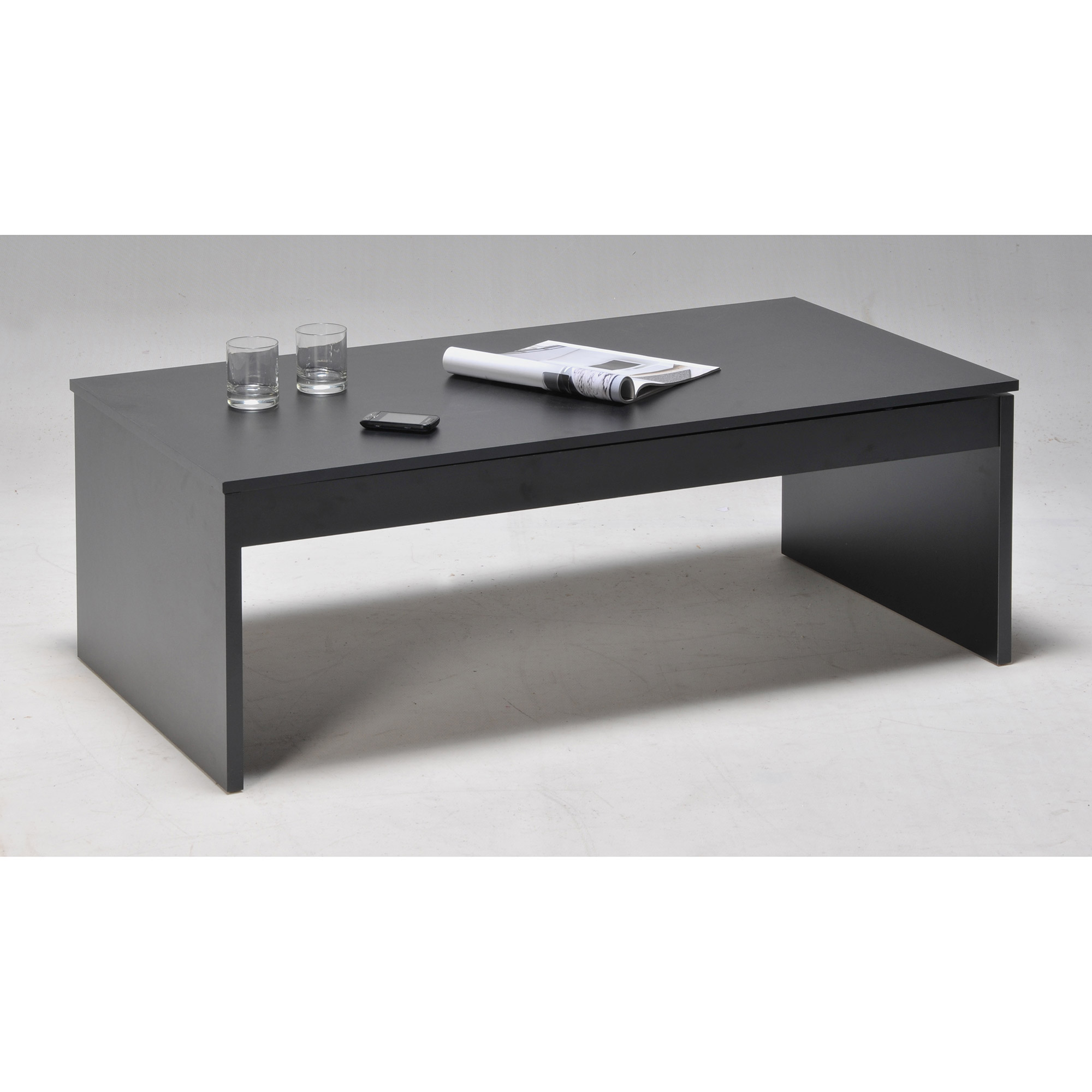 table basse darwin plateau relevable 60 x 120 cm. Black Bedroom Furniture Sets. Home Design Ideas
