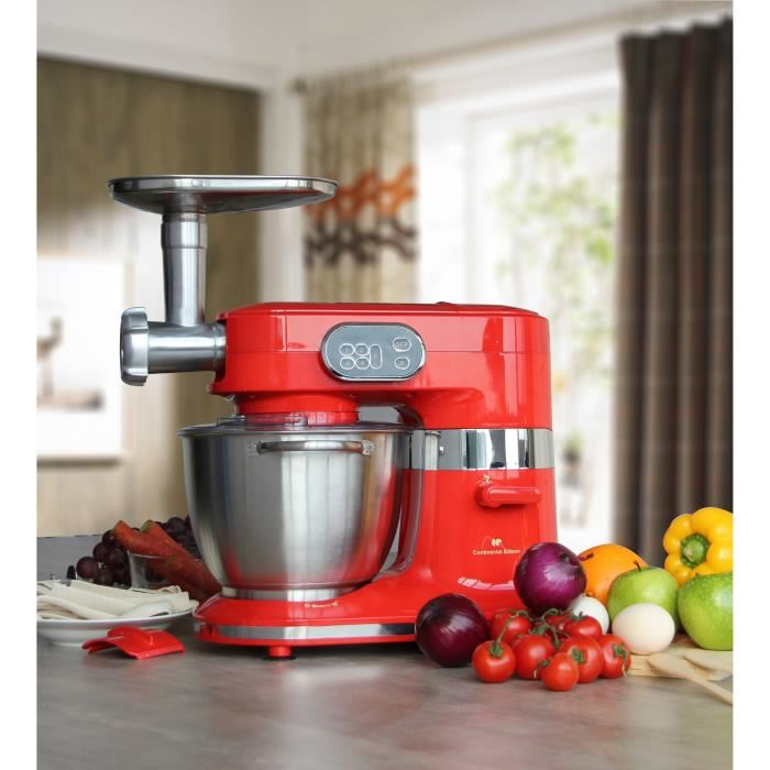 Continental edison rb100w robot de cuisine professionnel for Prix robot cuisine