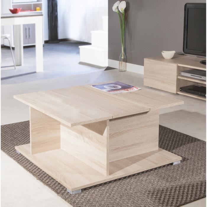 table basse prisca avec coffre comparer avec. Black Bedroom Furniture Sets. Home Design Ideas