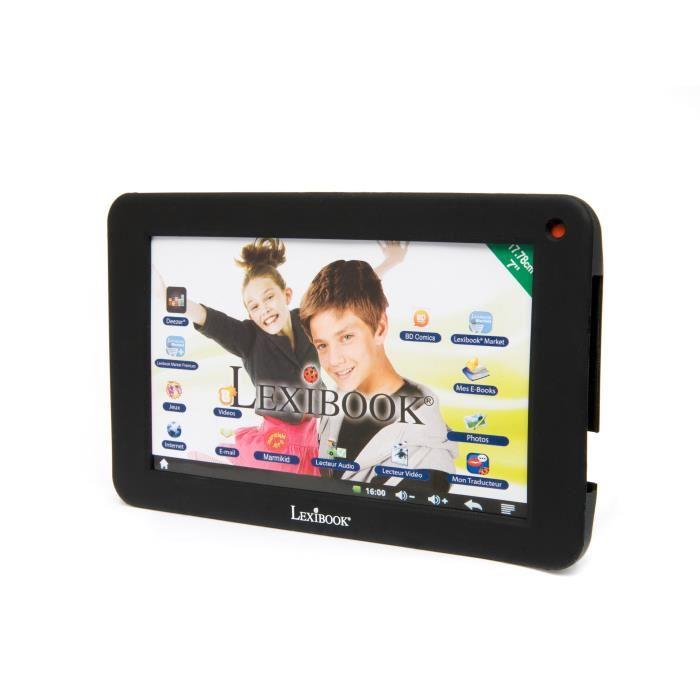 Lexibook mfa51 coque en silicone pour tablette 7 pouces - Coque pour tablette ...