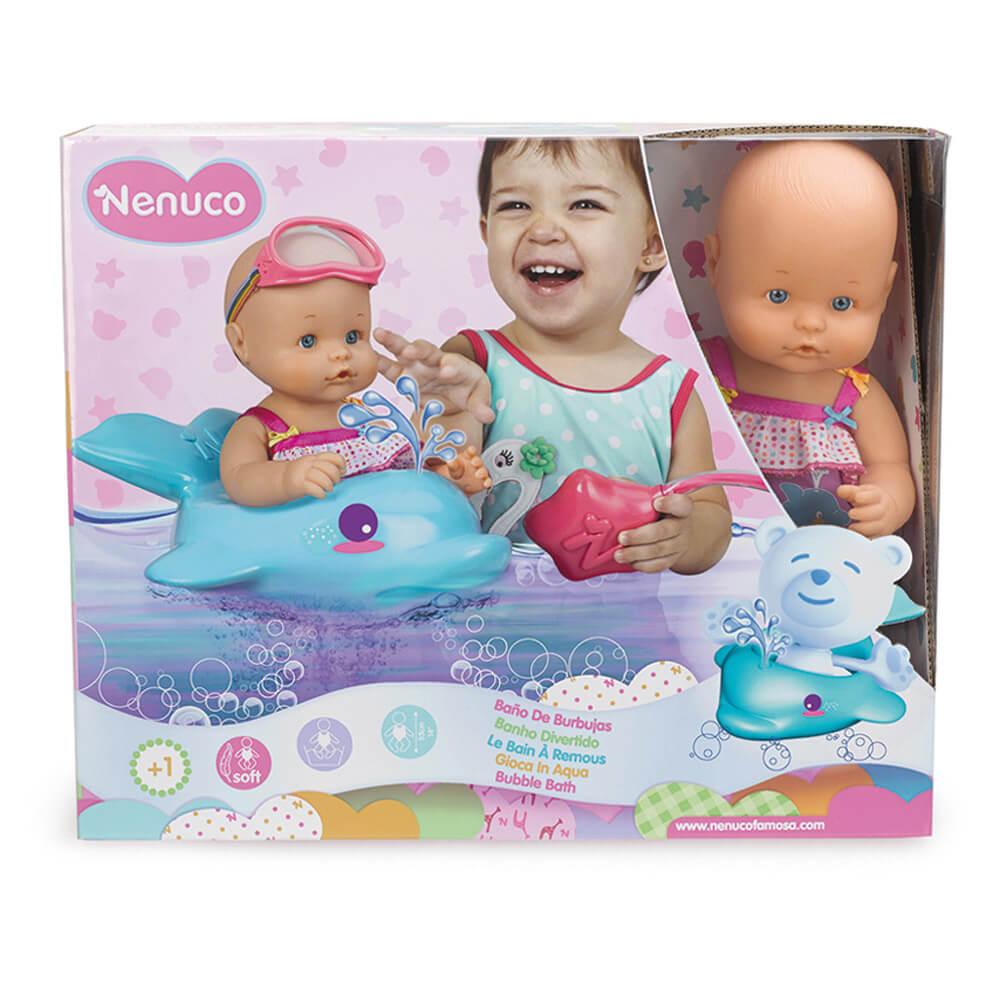 Famosa nenuco poupon le bain remous comparer avec for Nenuco salon de coiffure