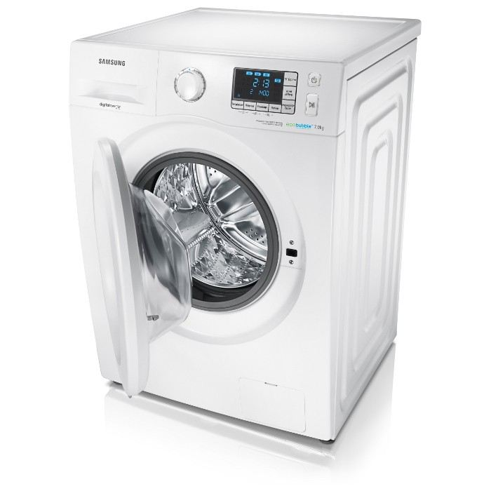 samsung wf70f5e3u4w lave linge frontal eco bubble 7 kg comparer avec. Black Bedroom Furniture Sets. Home Design Ideas