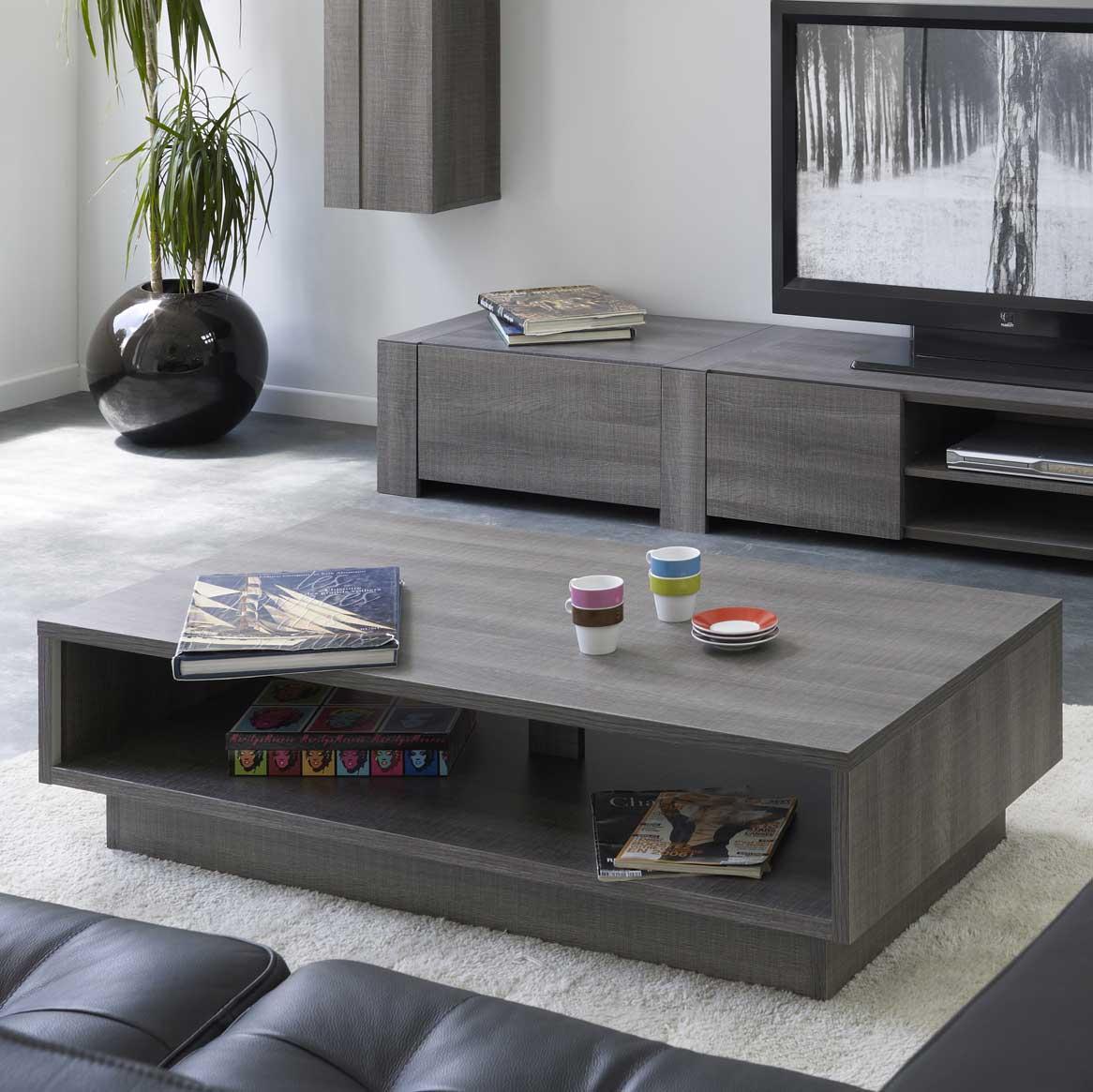 Table basse grey comparer avec - Table basse bois rectangulaire ...