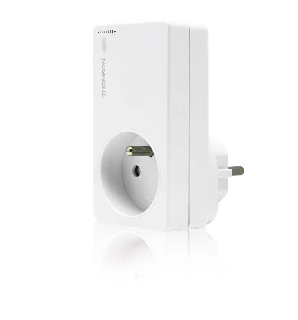 Thomson 500117 prise avec variateur d 39 intensit et - Prise electrique telecommande ...
