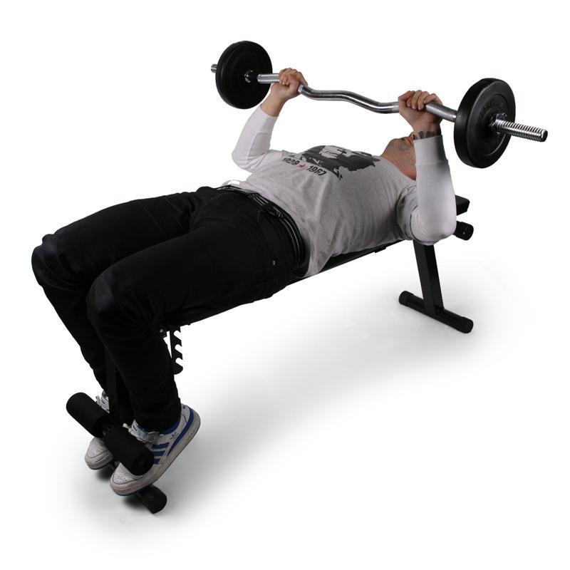 Klarfit fit hb3 banc de musculation comparer avec - Avis banc de musculation ...