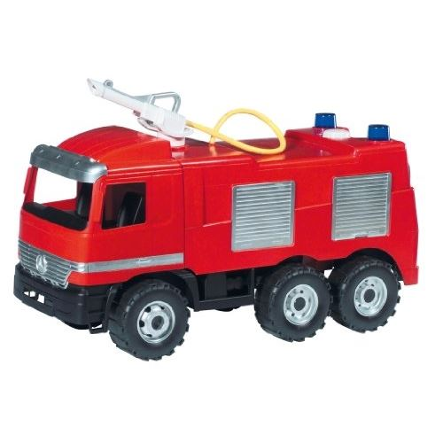 partner jouet camion de pompiers avec lance eau. Black Bedroom Furniture Sets. Home Design Ideas