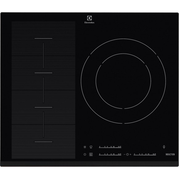 Electrolux ehx6355fhk table de cuisson induction 3 - Table induction 3 foyers ...