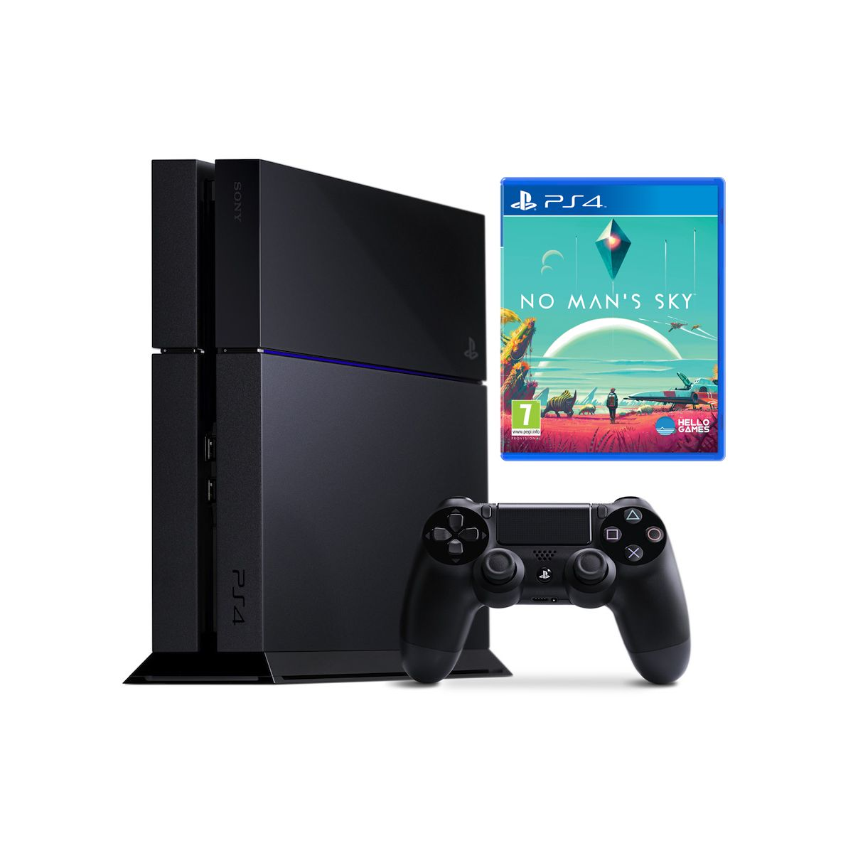 sony console ps4 1 to jet black no man 39 s sky comparer avec. Black Bedroom Furniture Sets. Home Design Ideas