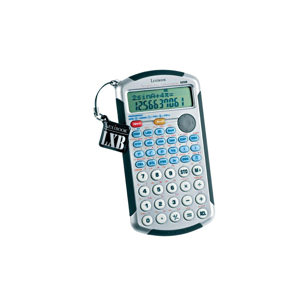 Lexibook sc500fr calculatrice scientifique 157 fonctions for Calculatrice prix