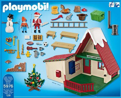 playmobil 5976 christmas la maison du p re no l. Black Bedroom Furniture Sets. Home Design Ideas