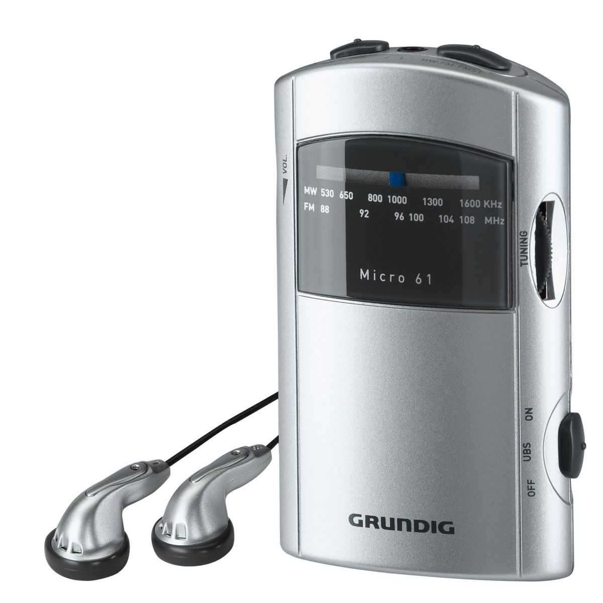 grundig micro61 radio portable comparer avec. Black Bedroom Furniture Sets. Home Design Ideas