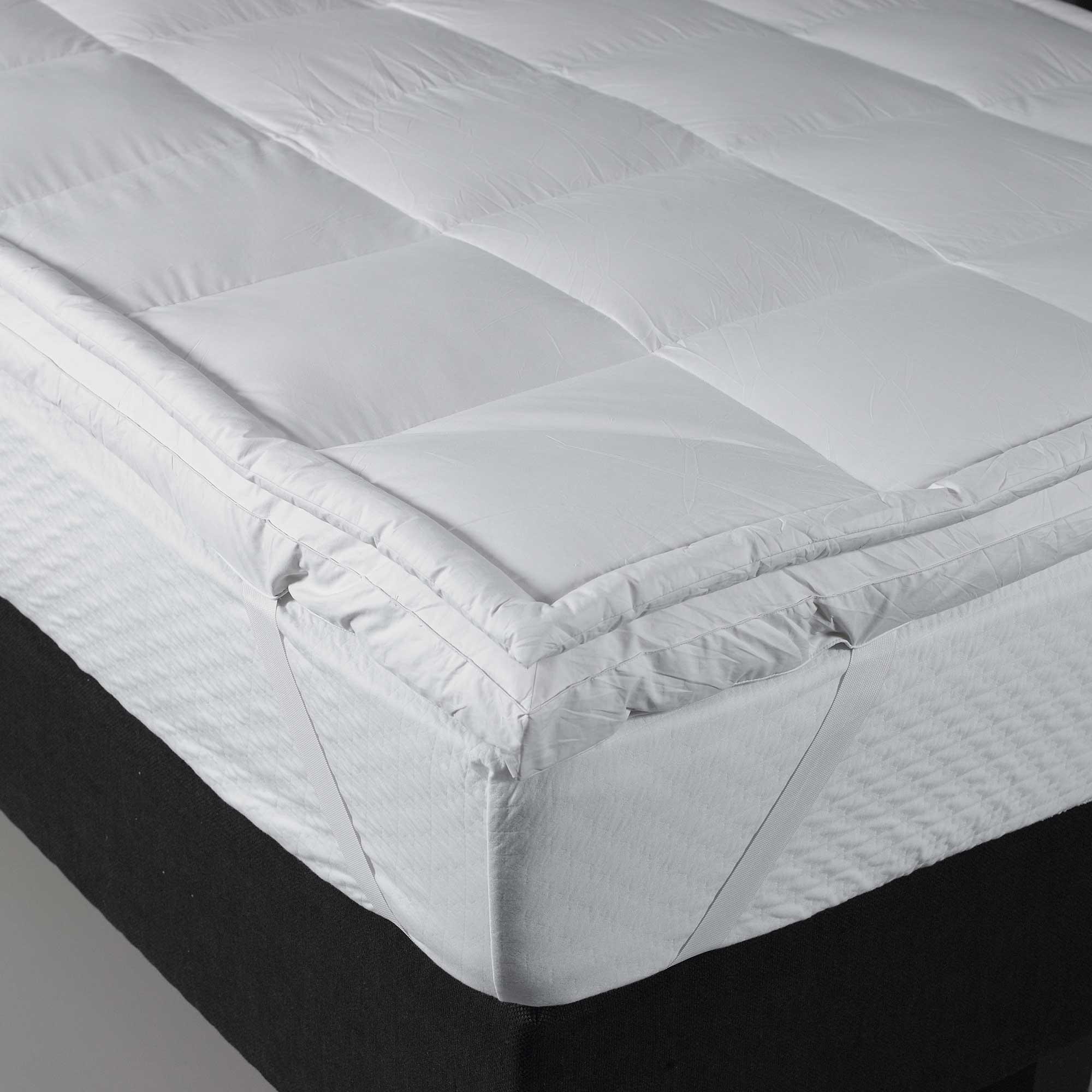 bultex surmatelas confort moelleux paisseur 7 cm 160 x. Black Bedroom Furniture Sets. Home Design Ideas