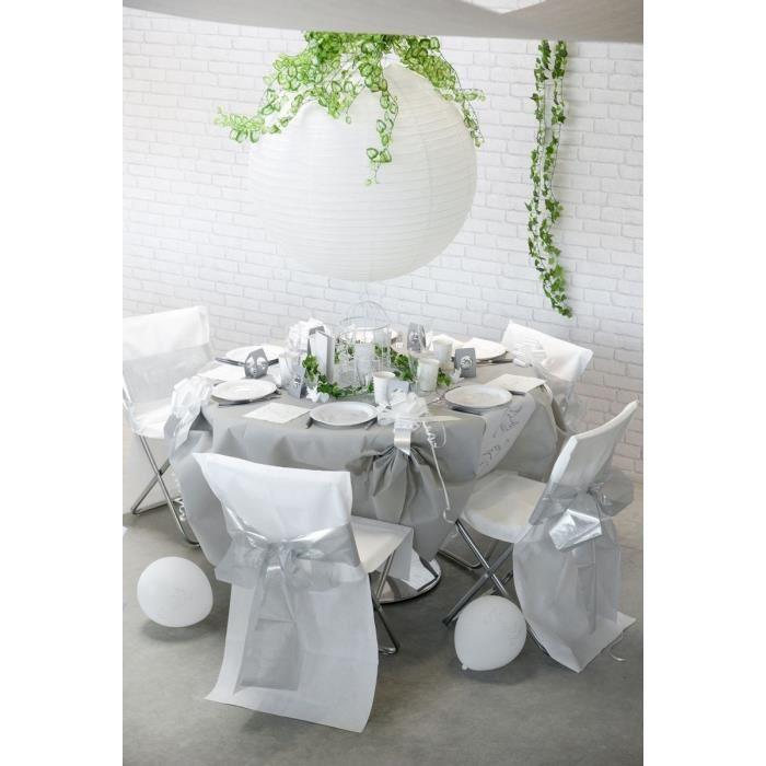 santex 2964 nappe ronde en intiss 240 cm comparer. Black Bedroom Furniture Sets. Home Design Ideas