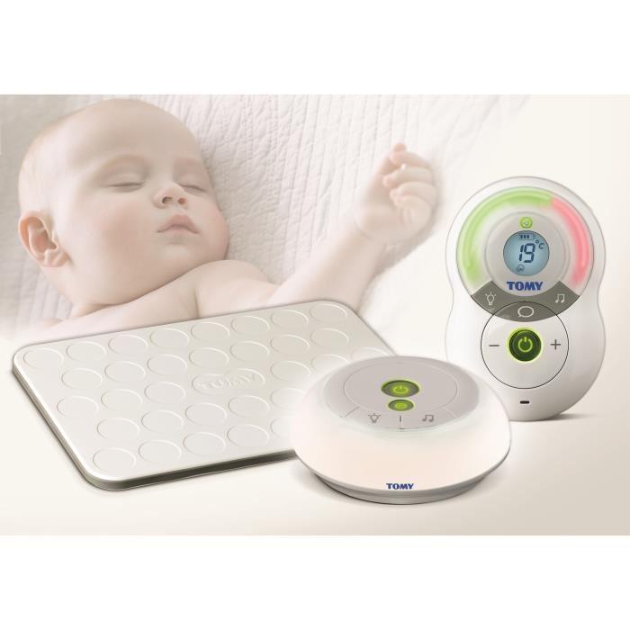 Tomy tfm575 babyphone digital avec tapis d tecteur mouvement comparer avec - Tapis detecteur de mouvement tomy ...