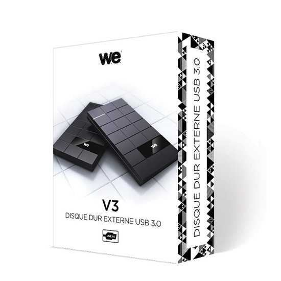 we v3 500 go disque dur externe design tablette de chocolat 2 5 usb 3 0 comparer avec. Black Bedroom Furniture Sets. Home Design Ideas