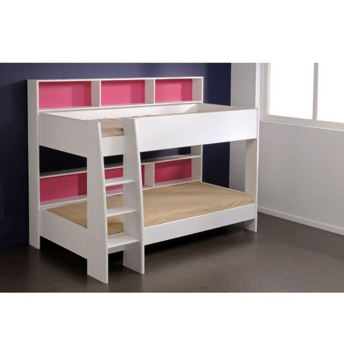 lit superpos jim avec sommiers 90 x 200 cm comparer avec. Black Bedroom Furniture Sets. Home Design Ideas