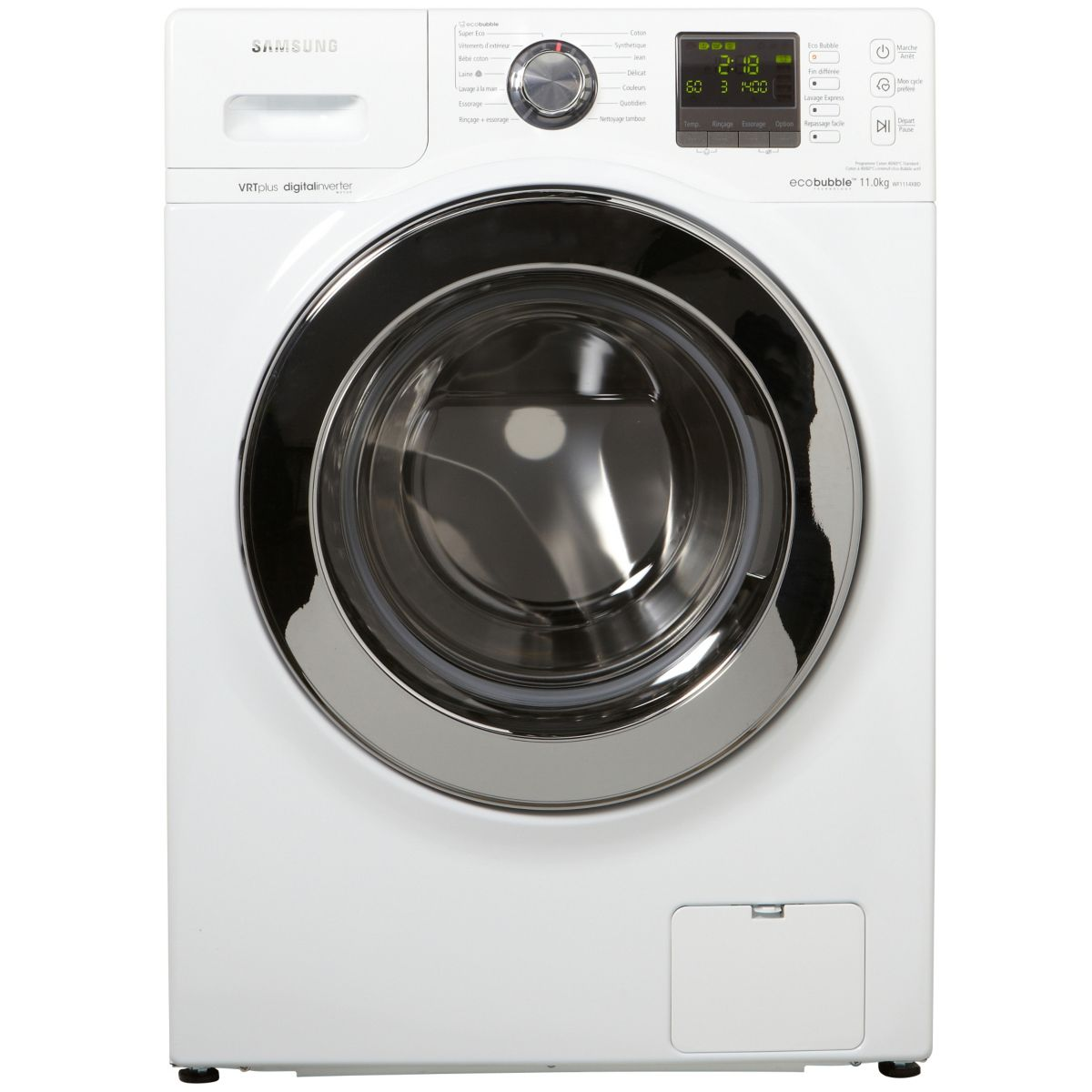 samsung wf1114xbd lave linge frontal eco bubble 11 kg comparer avec. Black Bedroom Furniture Sets. Home Design Ideas