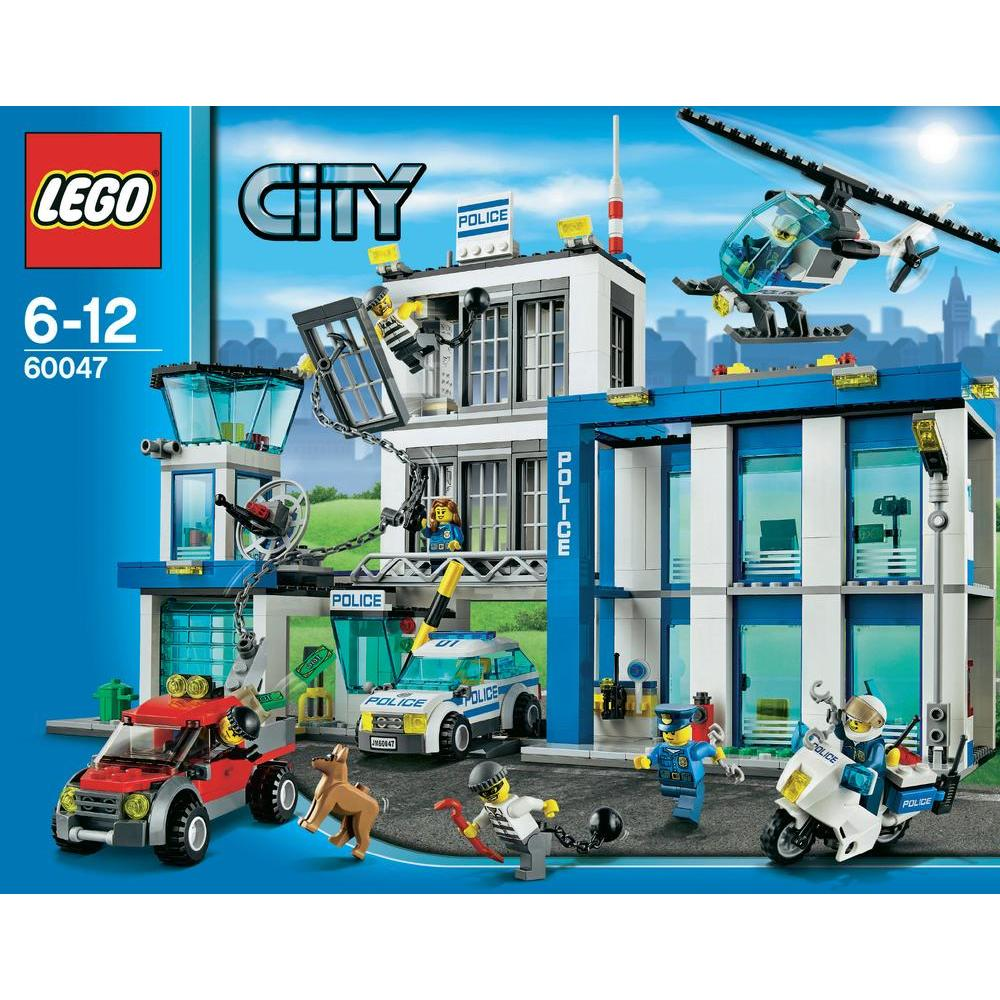 lego 60047 city le commissariat de police comparer avec. Black Bedroom Furniture Sets. Home Design Ideas