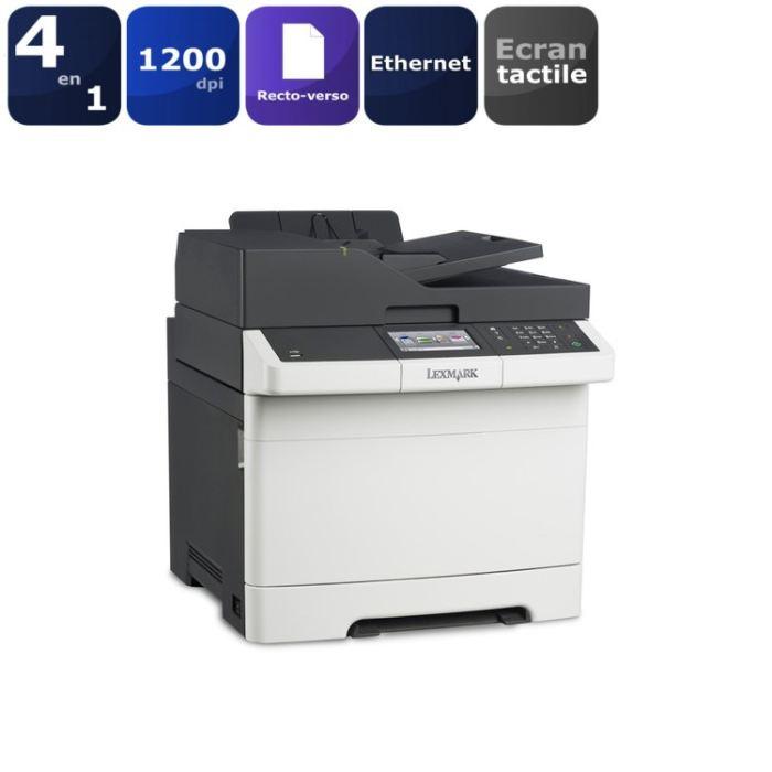 lexmark cx410 imprimante laser multifonctions fax. Black Bedroom Furniture Sets. Home Design Ideas