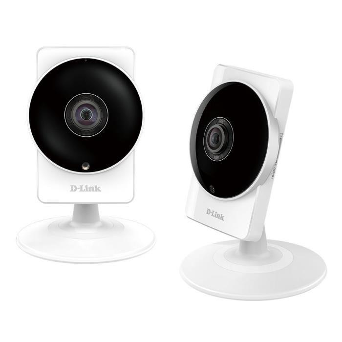 d link dcs 8200lh x2 2 cam ras de surveillance r seau comparer avec. Black Bedroom Furniture Sets. Home Design Ideas