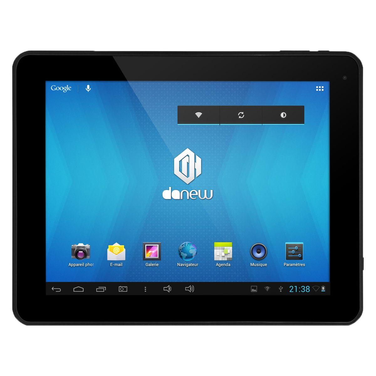 danew dslide 971dc 8 go tablette tactile 9 7 sous android jelly bean 4 2 2 comparer avec. Black Bedroom Furniture Sets. Home Design Ideas