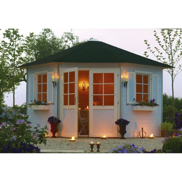 Solid s8207 abri de jardin de coin nancy en bois 28 mm 7 for Jardin prix m2