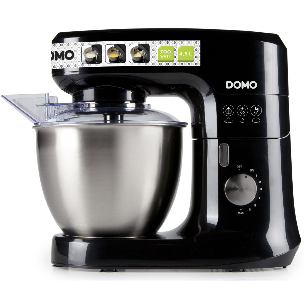 Domo do9111kr robot de cuisine comparer avec for Prix robot cuisine