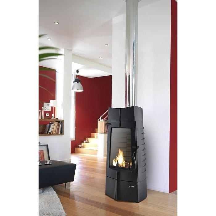 invicta 6156 44 po le bois en fonte chamane comparer. Black Bedroom Furniture Sets. Home Design Ideas
