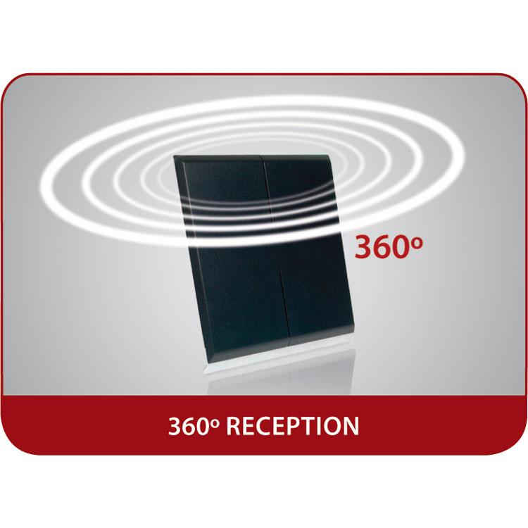 one for all sv 9395 antenne d 39 nterieur tnt full hd 51 db comparer avec. Black Bedroom Furniture Sets. Home Design Ideas