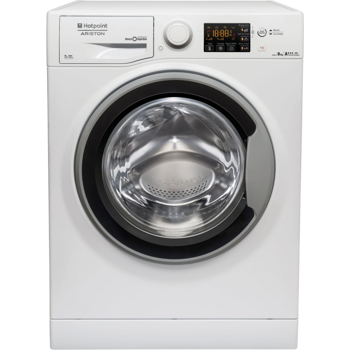 hotpoint rpg 945 js fr lave linge frontal 9 kg comparer avec. Black Bedroom Furniture Sets. Home Design Ideas