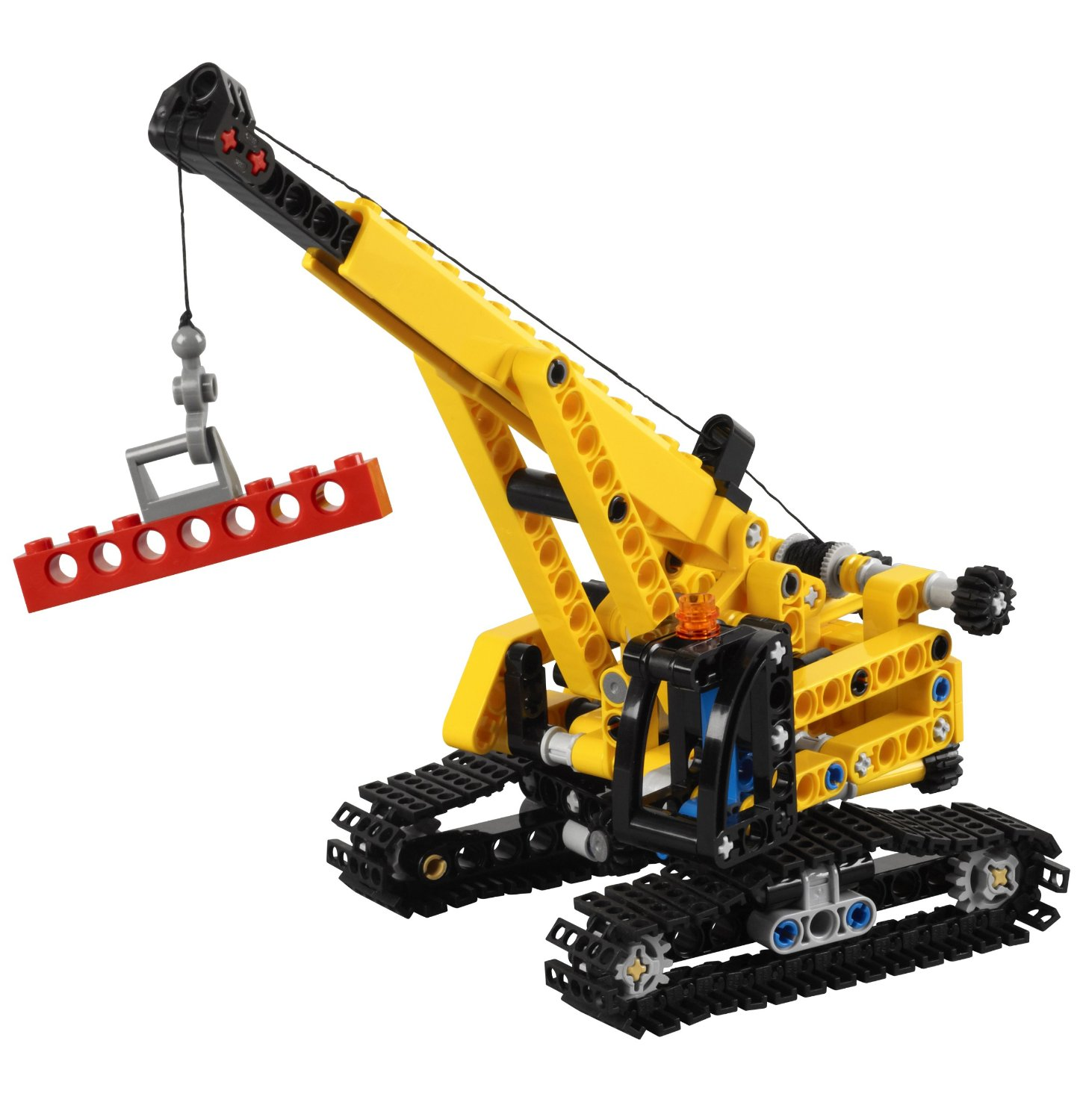 lego 9391 technic la grue sur chenille comparer avec. Black Bedroom Furniture Sets. Home Design Ideas