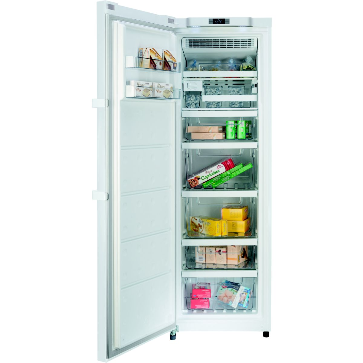 Hotpoint upah 1831 f cong lateur armoire 260 litres comparer avec tousles - Congelateur armoire hotpoint ...
