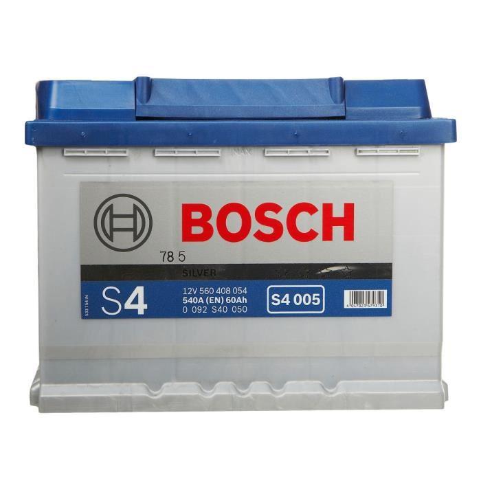 bosch 0092s40050 batterie de d marrage comparer avec. Black Bedroom Furniture Sets. Home Design Ideas